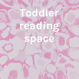 Toddler reading space