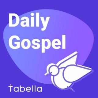 Daily Catholic Gospel by Tabella