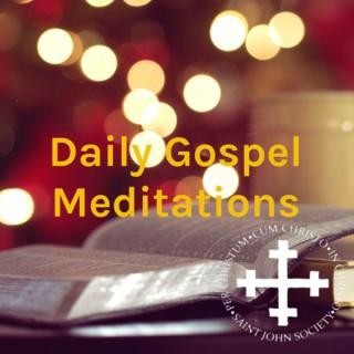 Daily Gospel Meditations - Saint John Society