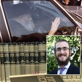 Rambam with the Rebbe