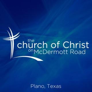 The church of Christ on McDermott Road