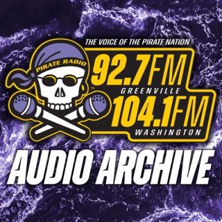 Pirate Radio 92.7FM Greenville Audio Archive