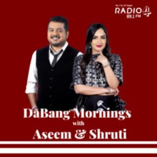 DaBang Mornings with Aseem and Shruti