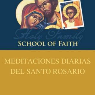 Meditaciones Diarias Del Santo Rosario