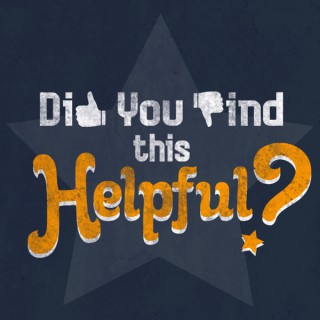 Did You Find This Helpful?