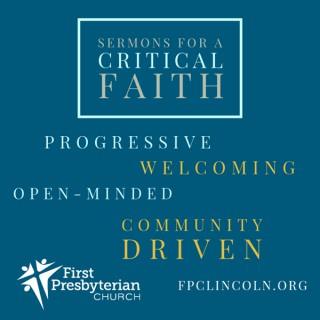 Sermons for a Critical Faith