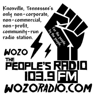 Selections from  WOZO-LP 103.9 FM Knoxville, TN The People's Radio
