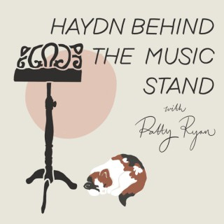 Haydn Behind the Music Stand