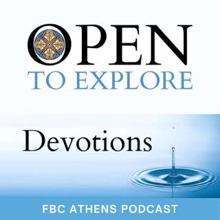 Open to Explore Devotions