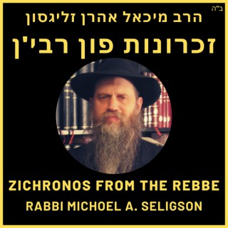 Zichronos from the Rebbe - ??????? ??? ???'?