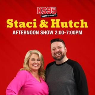 Staci & Hutch on KS95