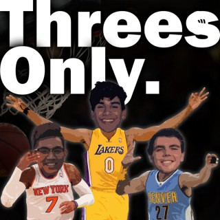 Threes Only. The NBA Podcast.