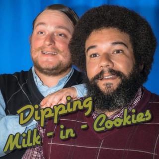 Dipping Milk in Cookies