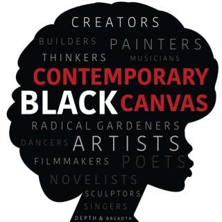 Contemporary Black Canvas