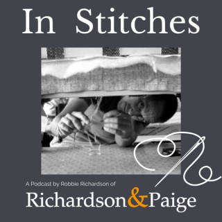 In Stitches - The Upholstery Podcast that tells the story of the skill that lies beneath the covers!