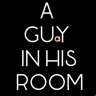A guy in his room
