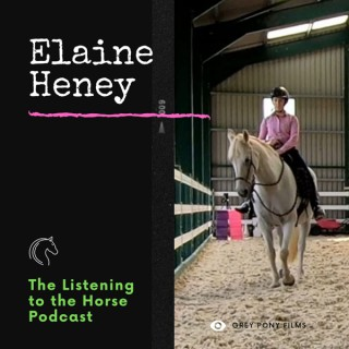 Elaine Heney and Listening to the Horse for Equestrians and Horse Owners