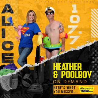Heather and Poolboy - HERE'S WHAT YOU MISSED!