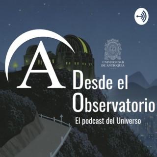 Desde el Observatorio