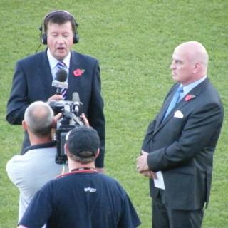 sideline reporter